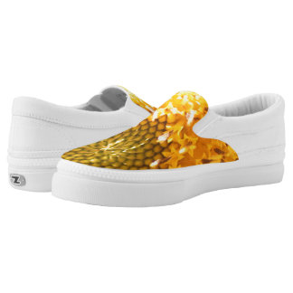 Golden Hues Z slipons Slip-On Sneakers