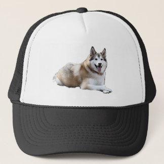 Golden Husky Trucker Hat