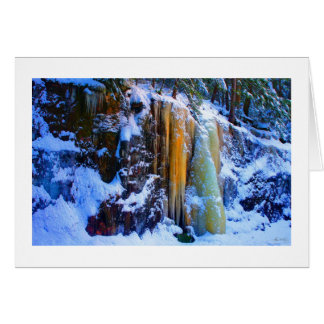 Golden Icefall - Smarts Brook No 1 Card
