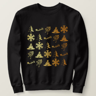 Golden icons christmas sweater