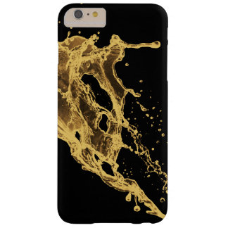 golden ink and water splash barely there iPhone 6 plus case