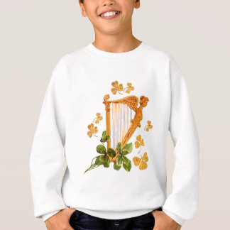 GOLDEN IRISH HARP SWEATSHIRT