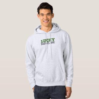 Golden Irish hooded sweatshirt