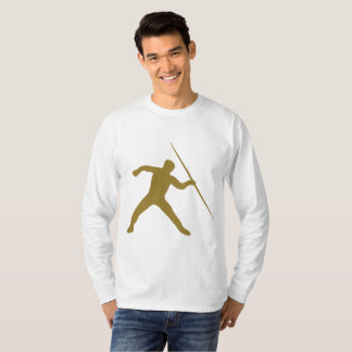 Golden Javelin Throw Long Sleeve T-Shirt