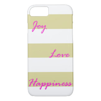 Golden Joy iPhone Case