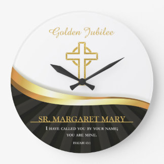 Golden Jubilee of Religious Life, 50 Year Large Clock