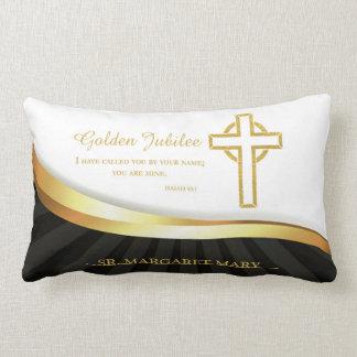 Golden Jubilee of Religious Life, 50 Year Lumbar Pillow