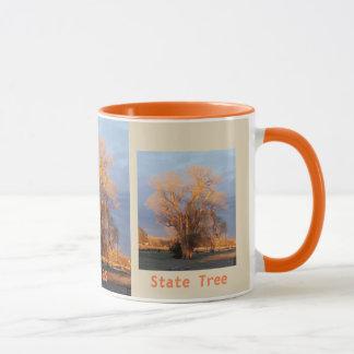 Golden Kansas State Tree - Cottonwood Mug