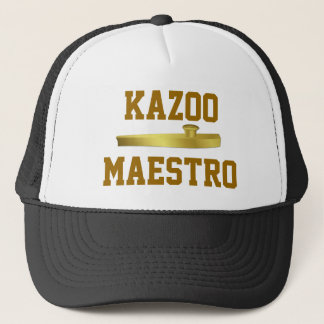 Golden Kazoo Musical Instrument Musicians Hat