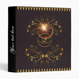 Golden key notes vinyl binders