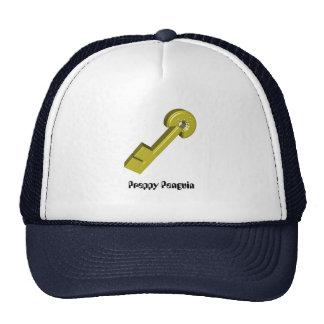Golden Key Preppy Penguin Trucker Hat