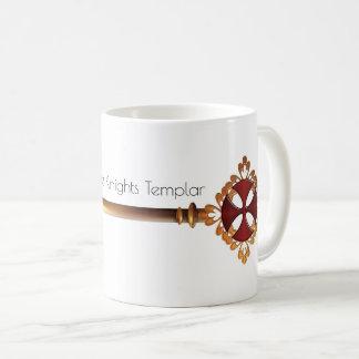 Golden Key to the Treasure of the Knights Templar Coffee Mug