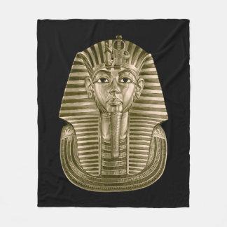 Golden King Tut Fleece Blanket