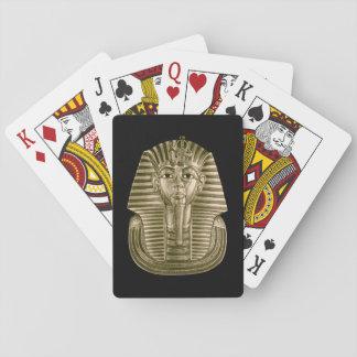 Golden King Tut Playing Cards