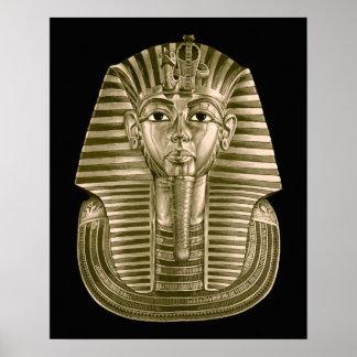 Golden King Tut Poster