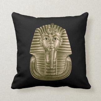 Golden King Tut Throw Pillow