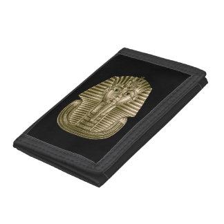 Golden King Tut TriFold Nylon Wallet