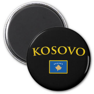 Golden Kosovo Magnet
