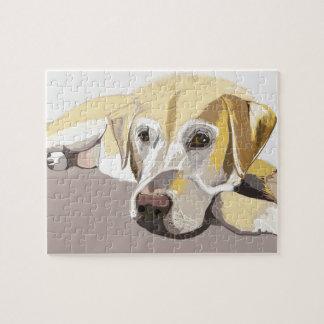 Golden Labrador Jigsaw Puzzle