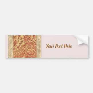 Golden Lace Bumper Sticker