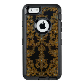 Golden Lace on Brown OtterBox iPhone 6/6s Case