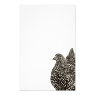 Golden Laced Wyandotte Chicken Stationery