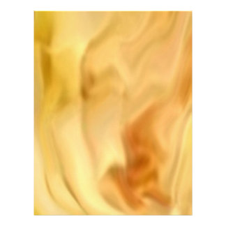 Golden Leaf -  Gold Color Therapy Art Custom Letterhead