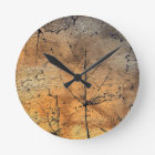 Golden Leaves Products.. Round Clock