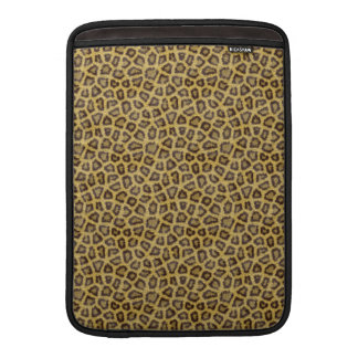 Golden Leopard Fur Sleeve For MacBook Air