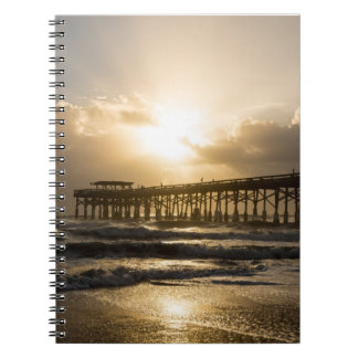 Golden Light Over Cocoa Notebook