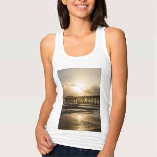 Golden Light Over Cocoa Tank Top