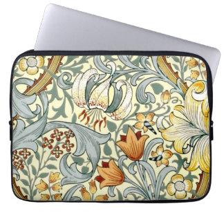 Golden Lilies Laptop Sleeve