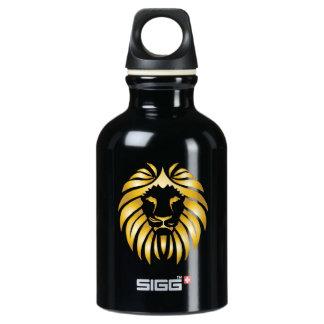 Golden Lion Head Water Bottle