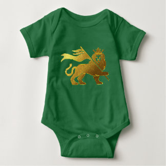Golden Lion of Judah Baby Bodysuit
