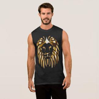 Golden Lion Sleeveless Shirt