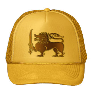 Golden Lion Sri Lanka hat