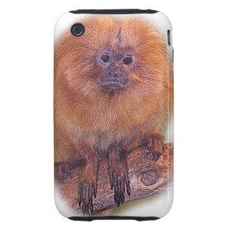 Golden Lion Tamarin, Golden Marmoset Monkey Brazil Tough iPhone 3 Cases
