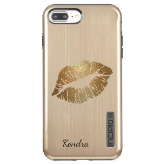 Golden Lips iPhone 7+ DualPro Shine Case