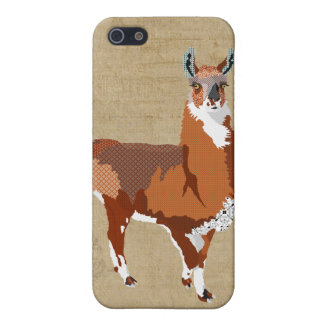 Golden Llama iPhone Case iPhone 5/5S Covers