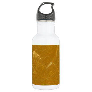 Golden Lotus Etched Foil LowPrice Shades n Pattern 532 Ml Water Bottle