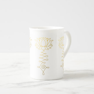Golden Lotus Mug