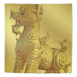 golden löwe Queen Size Duvet Cover