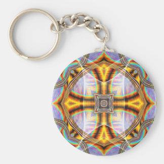 Golden Maltese Keychain