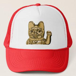 Golden Maneki Neko 02.2 Trucker Hat