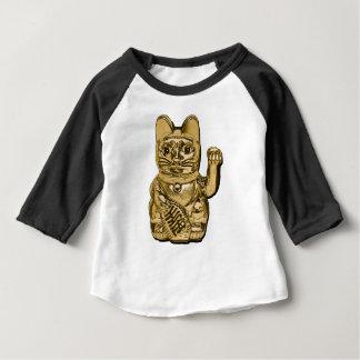 Golden Maneki Neko Baby T-Shirt