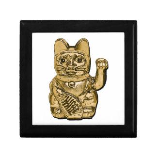 Golden Maneki Neko Gift Box