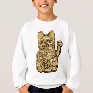 Golden Maneki Neko Sweatshirt