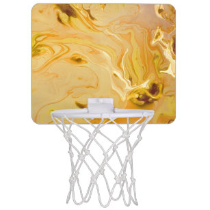 Marble Texture Mini Basketball Hoops | Zazzle ca
