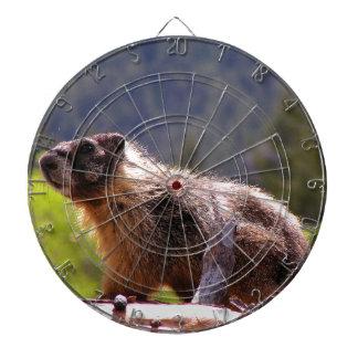Golden Marmot Dart Board
