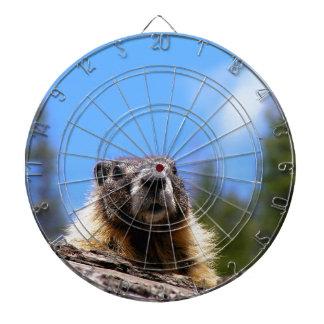 Golden Marmot in Canada Dartboard